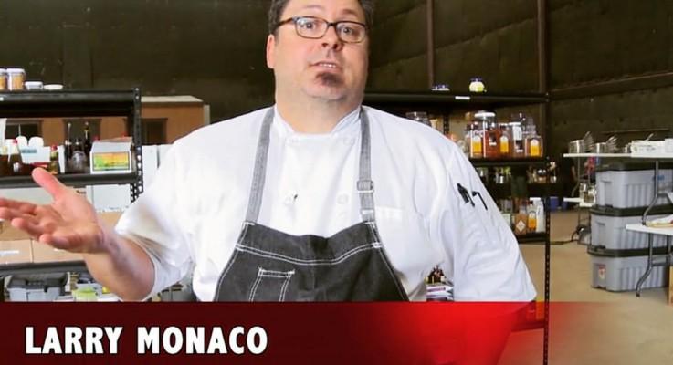 Vintage Eve Circa 4/2015: Chef Larry Monaco Pops Up at Frankie's on Melrose