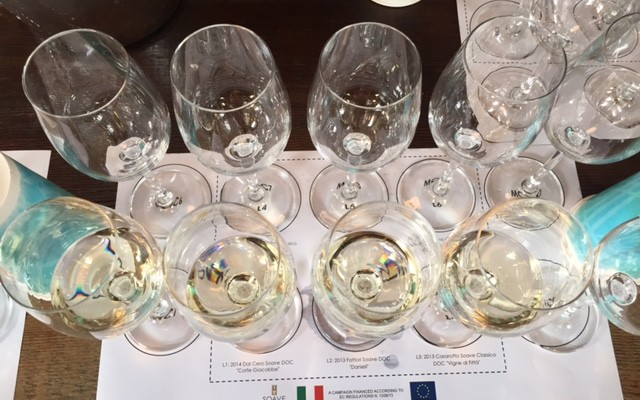 Vintage Eve Circa 4/2015: Sensational Soave Master Class for Wine 101ers