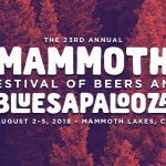 Mammoth Festival of Beers and Bluesapalooza Announces the 2018 Lineup