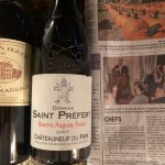 Two Bottle Post: 2000 Chateau Margaux Pavillon Rouge and 2007 Domaine Saint Prefert Chateauneuf Du Pape, Reserve Auguste Favier