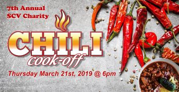 Seventh Annual SCV Charity Chili Cook-off Offers Lots of New Surprises