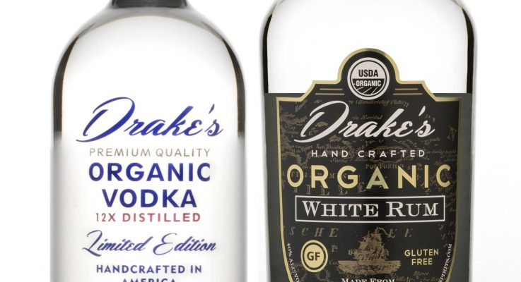 USDA and Non GMO Products Offer Healthier Options for Drake's Organic Spirits