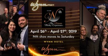 THE 9th ANNUAL ULTIMATE WHISKY EXPERIENCE Nth 2019 EXPANDS COLLECTION FOR EVENT APRIL 26 – 27, 2019 AT WYNN LAS VEGAS