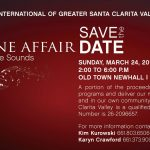 The Wine Affair – Sip, Stroll & Savor the Sounds: Takes Place March 24 on Main Street in Downtown Newhall