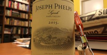 One Bottle Post: 2015 Joseph Phelps Syrah, Napa Valley