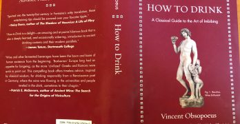 Book Review: (Being Told) How to Drink by Vincent Obsopoeus, from the Year 1536!