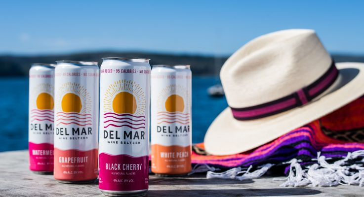 Del Mar Wine Seltzer Elevates Category With Wine-Based Hard Seltzer Offering