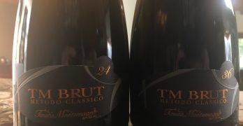 Sampling Sparkling Barbera, and More News, from Tenuta Montemagno!