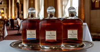 Coalition Whiskey Introduces the First 100% Rye Whiskey Finished in Bordeaux Wine Barrels