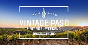 Vintage Paso: Zinfandel Weekend Returns March 19 – 21, 2021