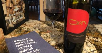 Tasting A Tribute Wine: 2011 DON Cabernet Sauvignon by Pure Cru Napa Valley, Winemaker Mitch Cosentino