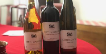 Smith-Madrone: Chard, Cab and Riesling Oh My!