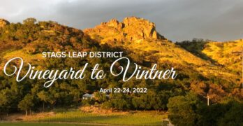 Explore the Stags Leap District and its World-Class Wines at Vineyard to Vintner Weekend, April 22-24, 2022